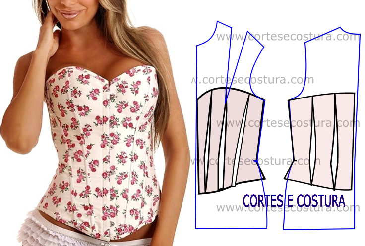 Corpete floral